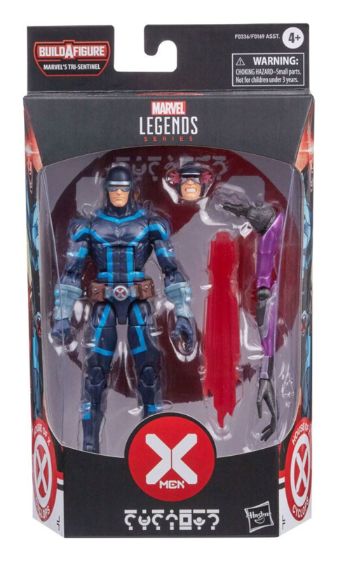Marvel Legends X-Men Cyclops [BAF Tri-Sentinel]