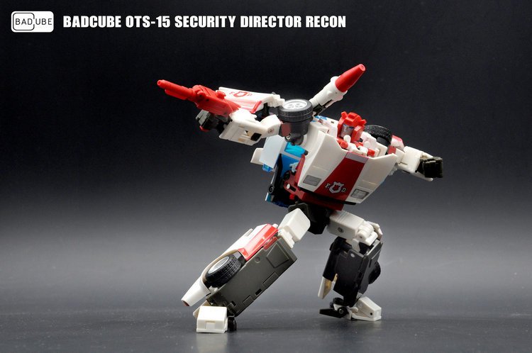 BadCube OTS-15 Security Director Recon