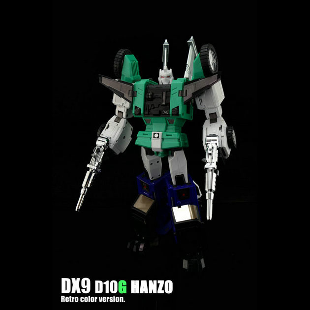 DX9 D-10G Hanzo Green Version