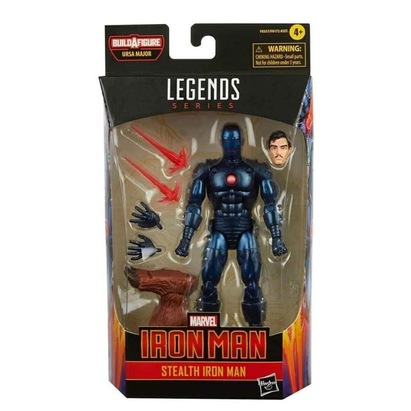 Marvel Legends Comic Series Stealth Iron Man [BAF Ursa Major] - Pre order