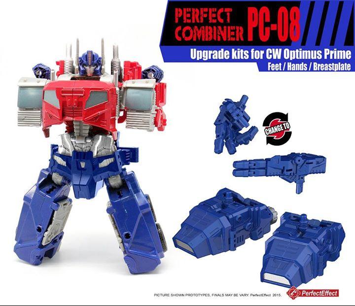 Perfect Effect PC-08 Upgrade set Optimus