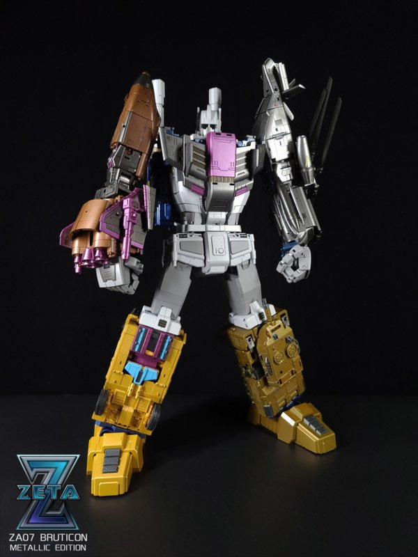 Zeta Toys ZA-07 Bruticon Metallic Edition - Pre order