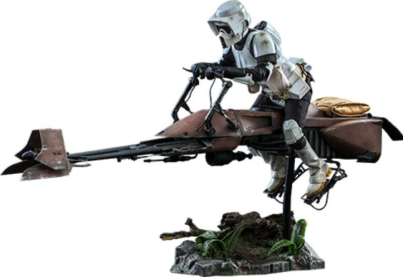 Hot Toys Star Wars Episode VI AF 1/6 Scout Trooper & Speeder Bike - Pre order