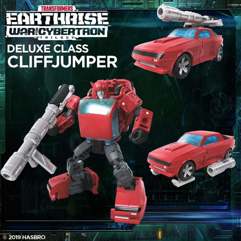 Transformers Earthrise Deluxe Cliffjumper - Pre order