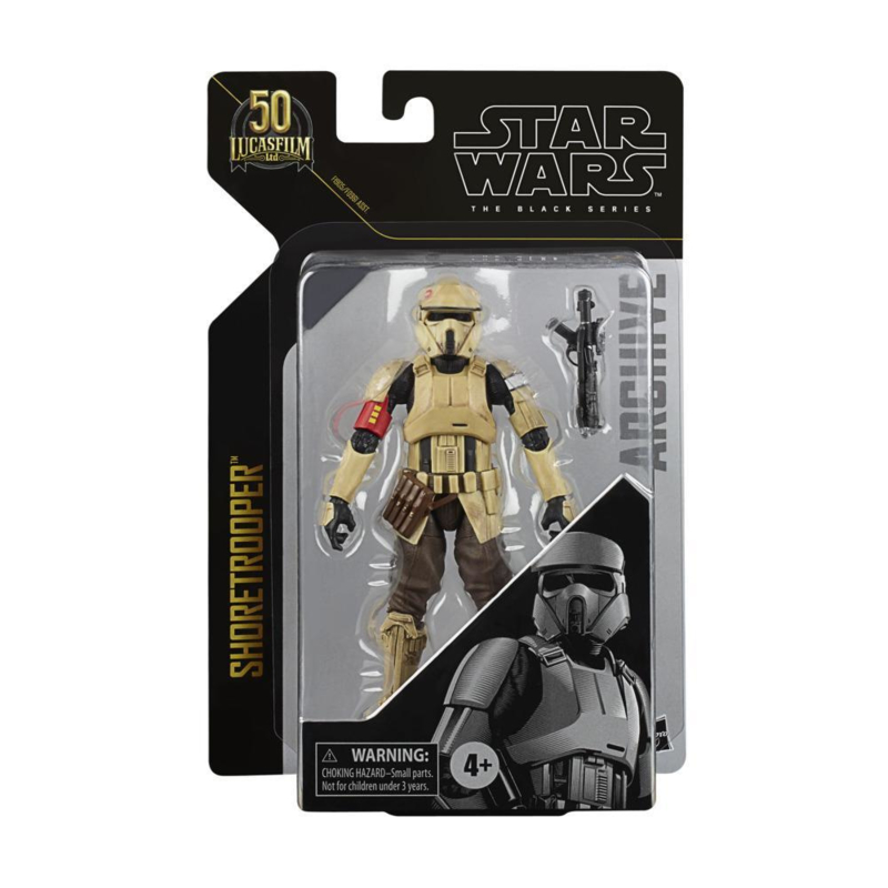 Star Wars The Black Series Archive Shoretrooper 50th Ann.