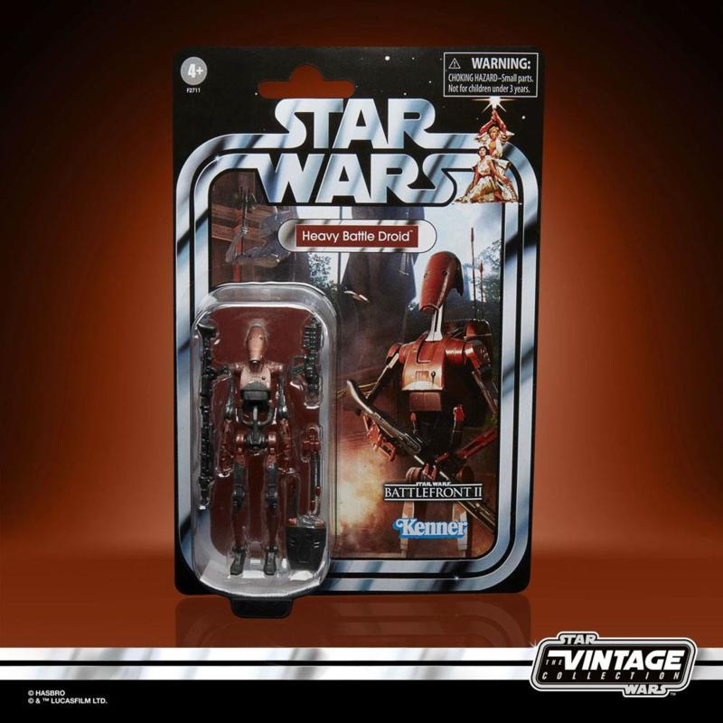 Star Wars Vintage Collection GG AF 2021 Heavy Battle Droid (Battlefront II) - Pre order