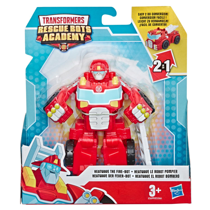 Transformers Rescue Bots Academy Rescan Classic Heatwave the Fire-Bot