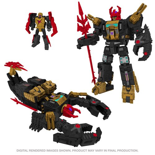 Hasbro Generations Selects War for Cybertron Titan Black Zarak - Pre order