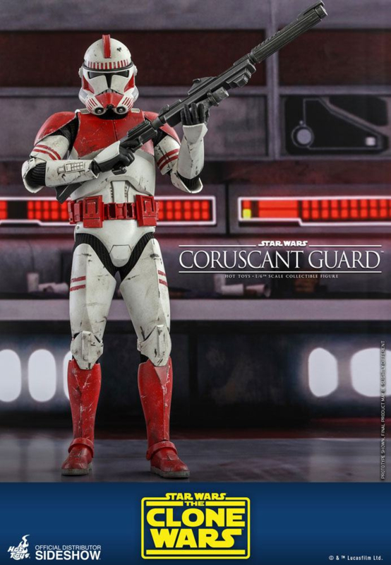 Star Wars The Clone Wars AF 1/6 Coruscant Guard - Pre order