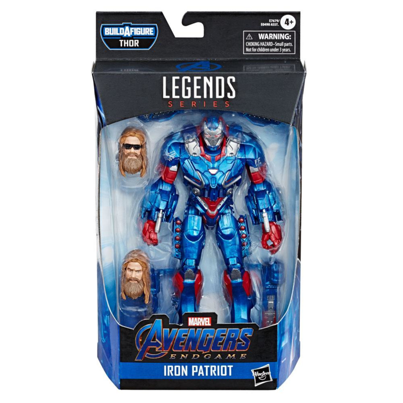 Marvel Legends Iron Patriot [Avengers Endgame] - Pre order