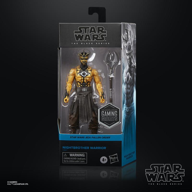 Star Wars Black Series Nightbrother Warrior [Import stock]