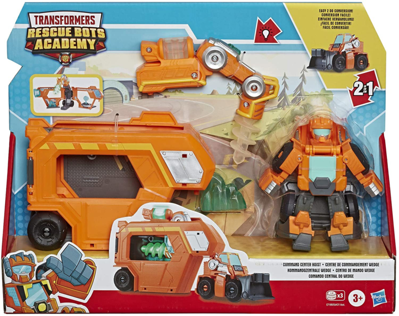 Transformers Rescue Bots Academy Command Center Wedge Trailer - Pre order