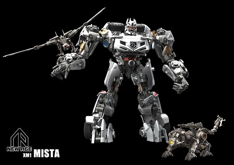 Newage NA XM1-B Mista (Soundwave+Laserbeak+Ravage)
