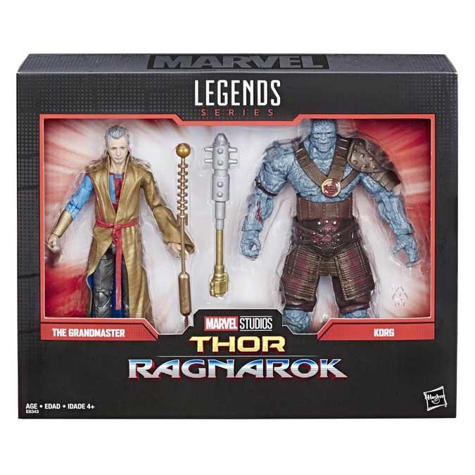 Marvel Legends Grandmaster & Korg