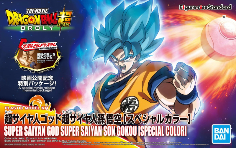 Figure-rise Dragon Ball Super SSGSS Goku [special color]