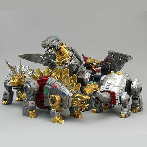 ZETA EX-04 Dinokong Metallic set of 5 box