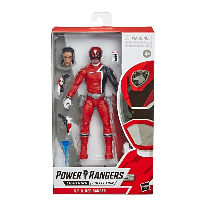 Power Rangers S.P.D. Red Ranger - Pre order