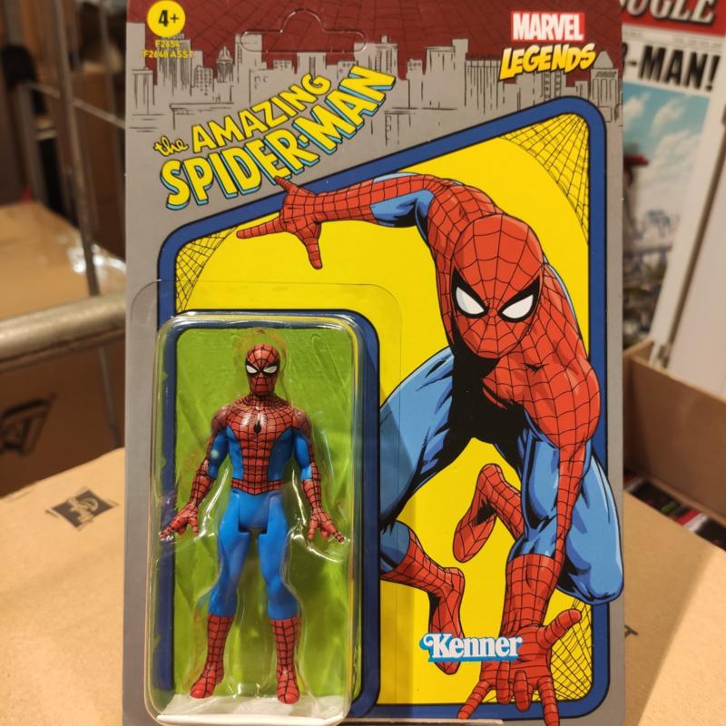 Marvel Legends Recollect Retro Spiderman