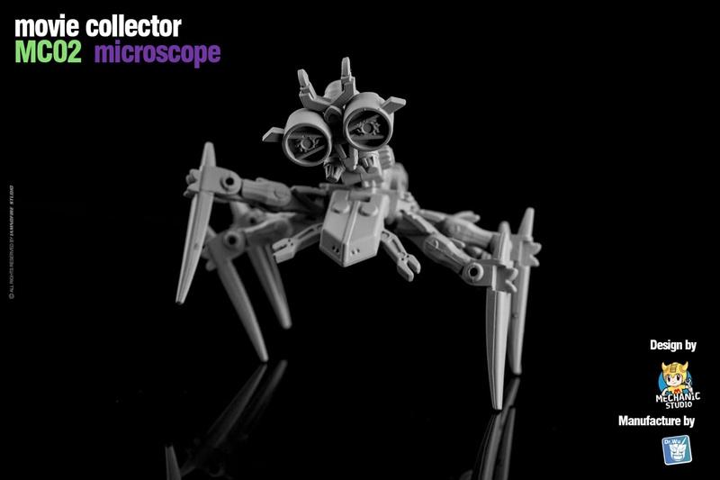 Dr. Wu Movie Collector MC02 Microscope - Pre order