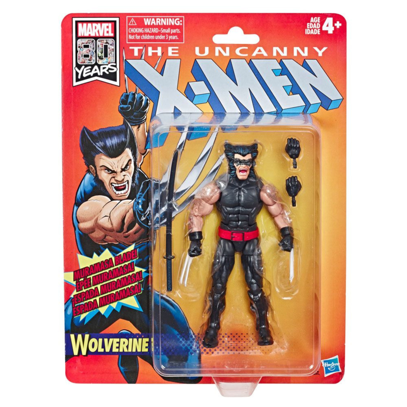 Marvel Legends Retro Uncanny X-Men Wolverine