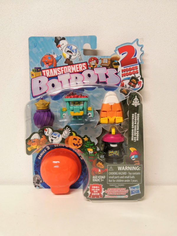 Hasbro Botbots Serie 3 Season Greeters D [set of 5]