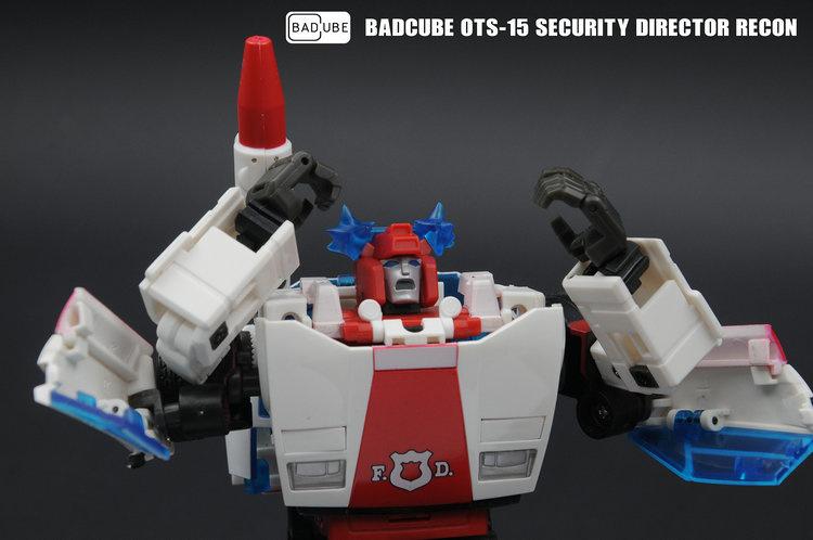 Transformers BadCube OTS-15 Recon Kit In Stock !