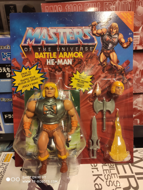 Masters of the Universe Deluxe Action Figure He-Man