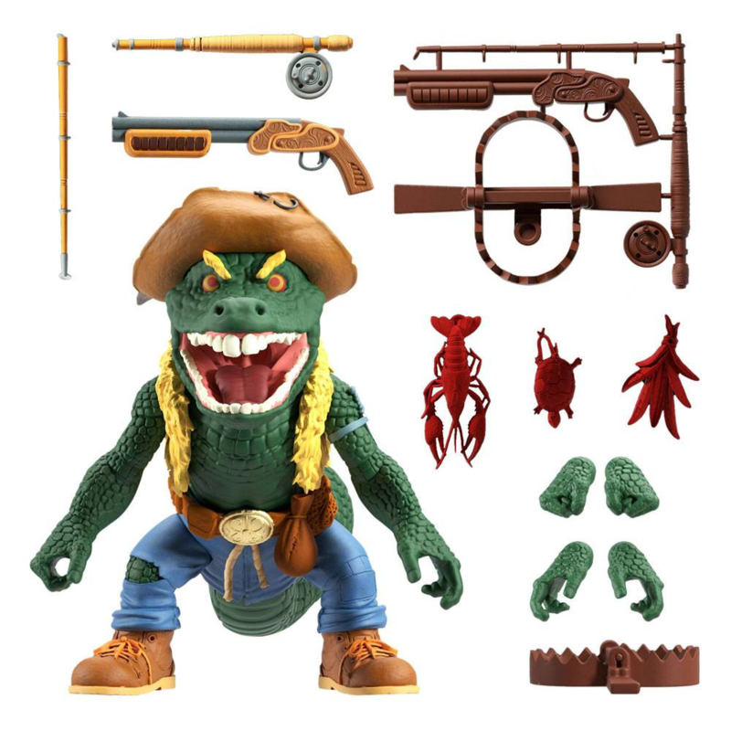 Super7 Teenage Mutant Ninja Turtles Ultimates Leatherhead - Pre order