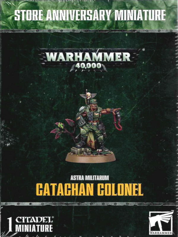 Astra Militarum Catachan Colonel