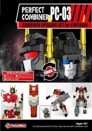 Perfect Effect PC-03 Combiner Upgrade set