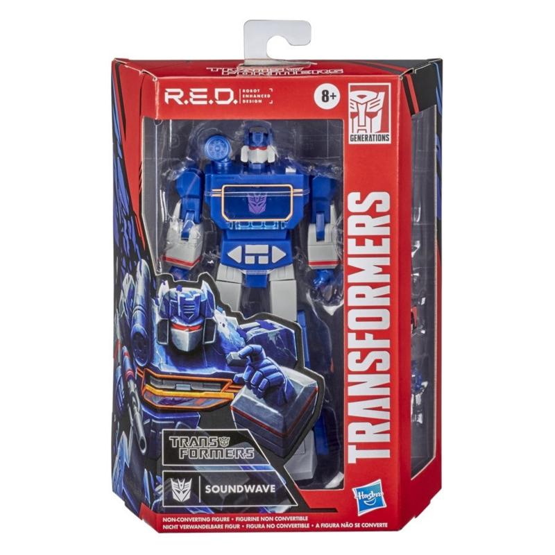 Hasbro Transformers R.E.D. Series G1 Soundwave - Pre order