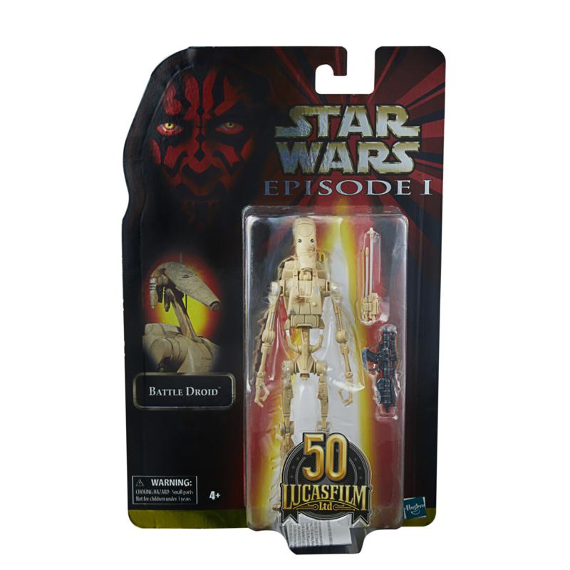 Star Wars Episode I Black Series Lucasfilm 50th Ann. AF 2021 Battle Droid