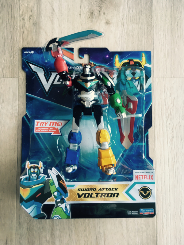Playmates Voltron Basic Action Figure - Sword Attack