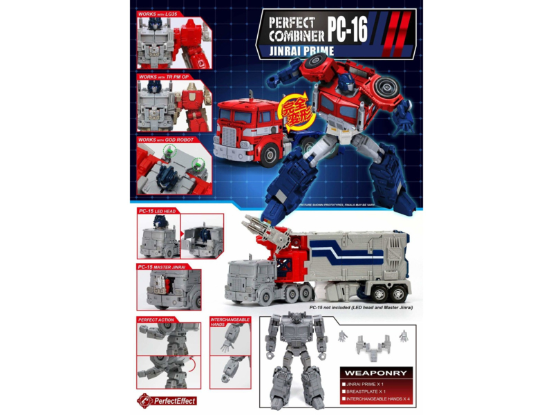 Perfect Effect PC-16 Jinrai Prime