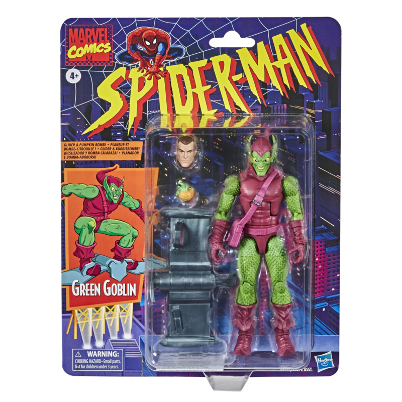 Marvel Legends Spider-Man Retro Series Green Goblin