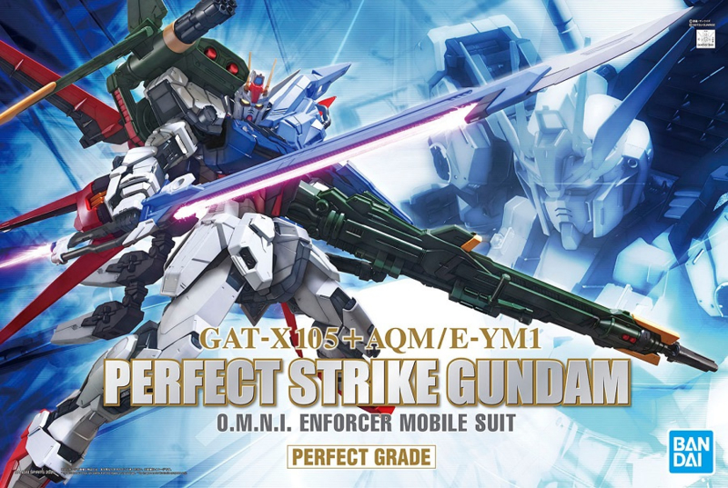 1/60 PG GAT-X105+AQM/E-YM1 Perfect Strike Gundam
