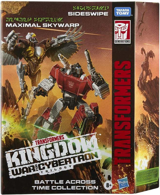 Hasbro WFC-K Battle Across Time Skywarp and Sideswipe - Pre order