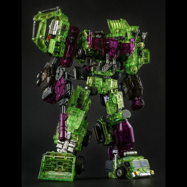 Generation Toy GT-01GS Gravity Builder Green Shadow