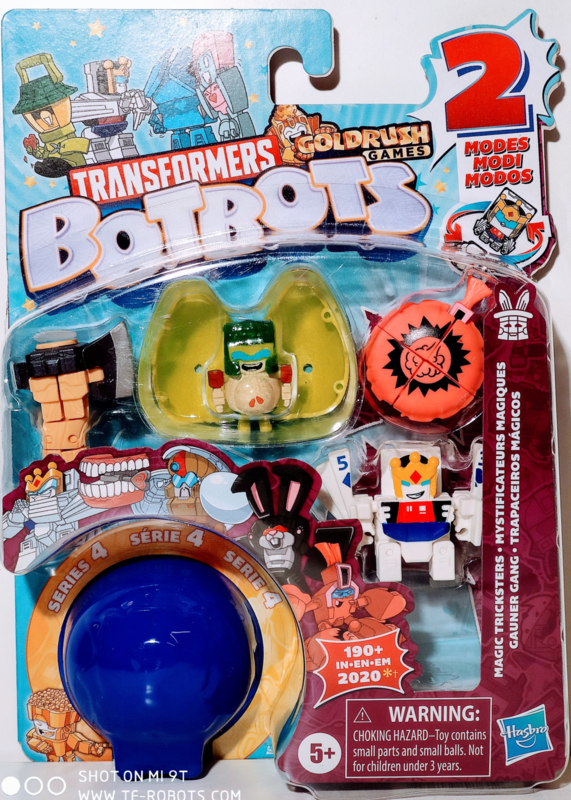 Hasbro Botbots Serie 4 Magic Tricksters Set of 5 [B]