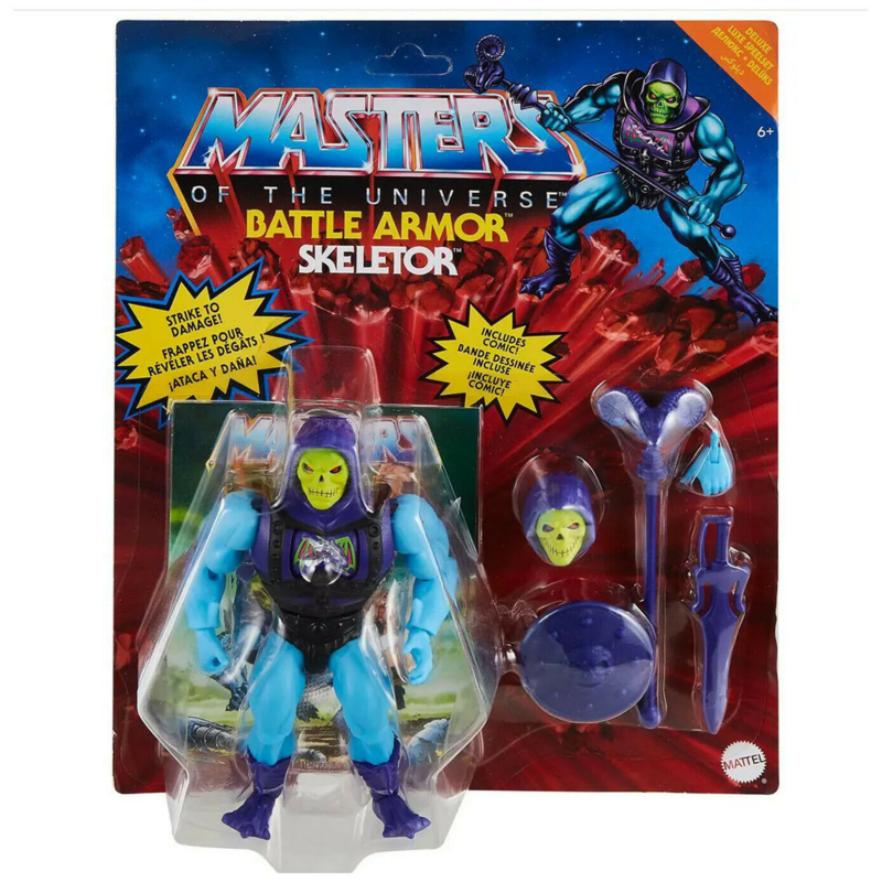 Masters of the Universe Deluxe Action Figure Skeletor