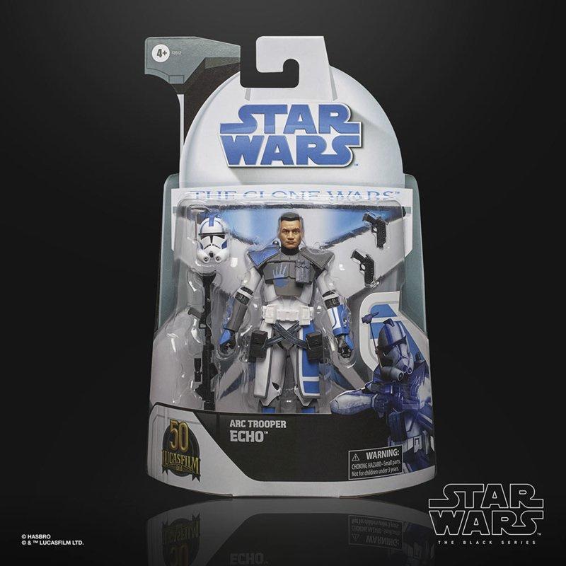 Star Wars Black Series Clone Wars Exclusive Arc trooper Echo