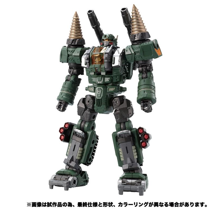 Takara Diaclone Reboot DA-51 Tryverse Trydigger [Cosmo Version] - Pre order