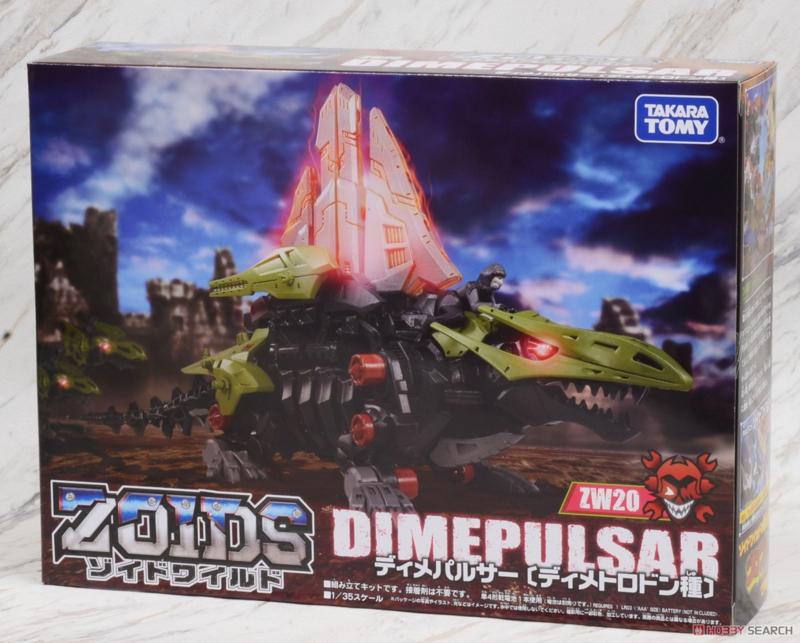 Takara Zoids WIld ZW-20 Dimepulsar (M)