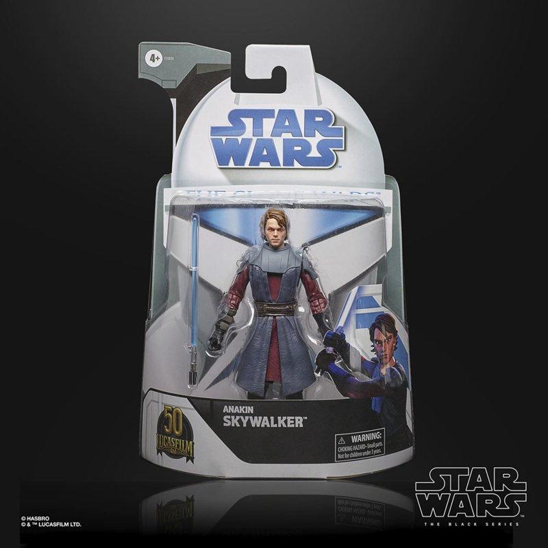 Star Wars Black Series Clone Wars Exclusive Anakin Skywalker