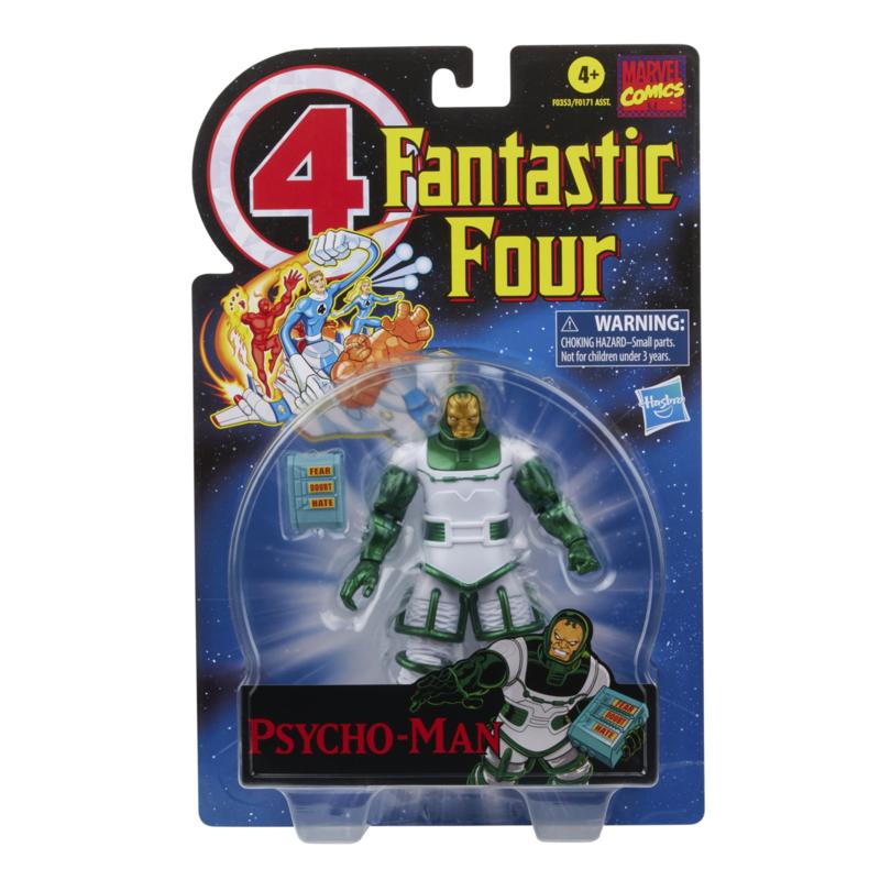 Marvel Legends Fantastic 4 Retro Marvel's Psycho-Man - Pre order