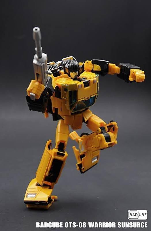 Badcube OTS-08 Warrior Sunsurge