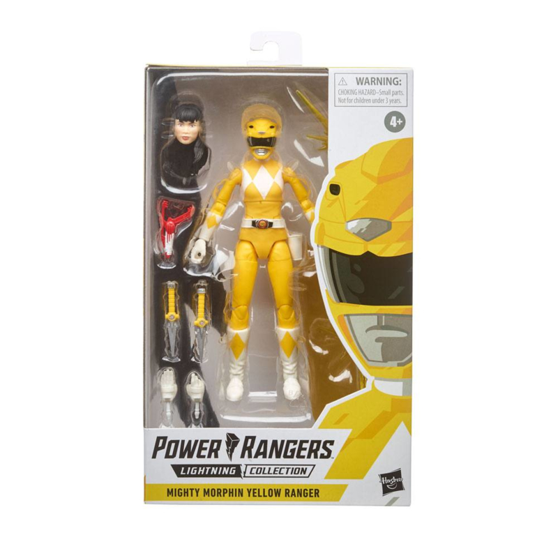 Power Rangers Mighty Morphin Yellow Ranger - Pre order