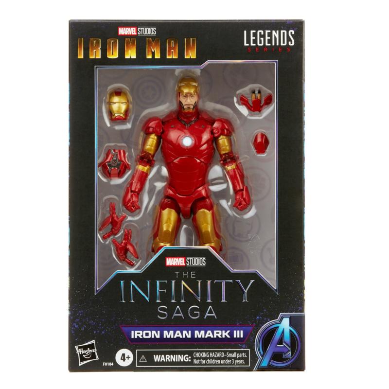 Marvel Legends The Infinity Saga Iron Man Mark III - Pre order