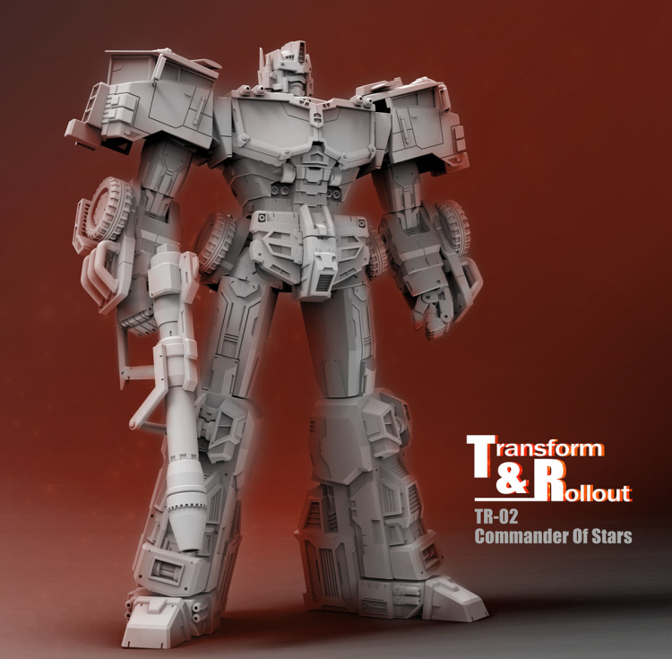 Transform and Rollout TR-02 Commander Of stars - Pre order