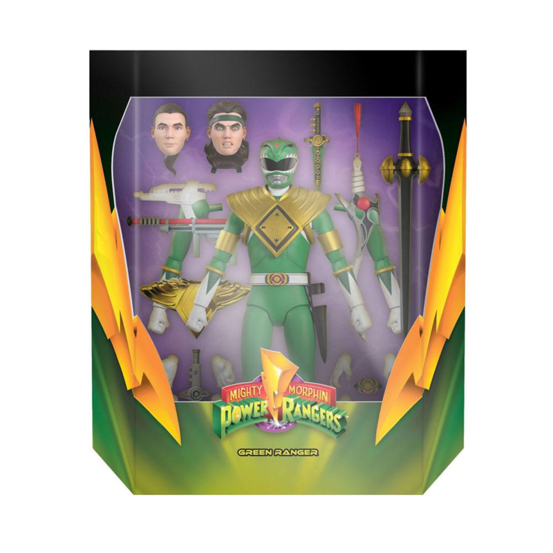 Super7 Mighty Morphin Power Rangers Ultimates AF Green Ranger - Pre order